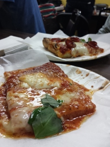 The best pizza outside of Italy, they say, is found at tiny Di Fara Pizza in Brooklyn. It did not disappoint.